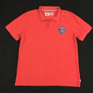 Other - Paris Saint Germain PSG Polo Golf Shirt Red M